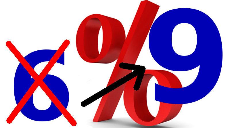 Verhoging laag btw-tarief